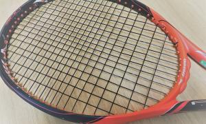 【テニスサポートセンター】ストリングの張り替えをお願いしました!