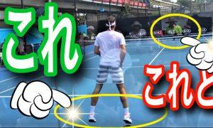 テニスの動きを良くするスプリトステップのタイミング