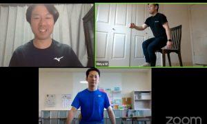 テニスオンライントレーニング会~プロトレーナー&徳島県立城南高校テニス部&非常識理論~